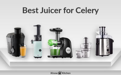 Best Juicer for Celery, Greens, Carrots & Ginger (Top 5 Pick)