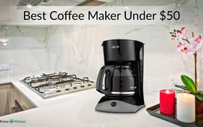 Top 5 Best Coffee Maker Under 50 in 2021 (Complete Review)