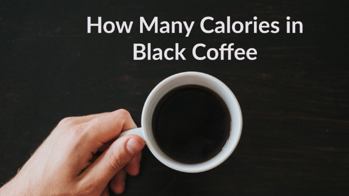How many calories in black coffee