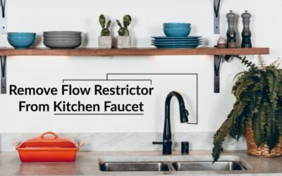 How to Remove Flow Restrictor From Kitchen Faucet? Guide!
