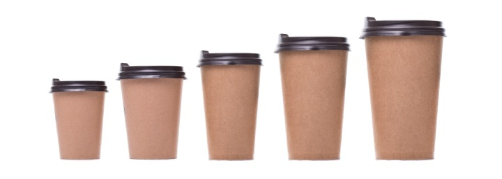 Serving size of coffee cup